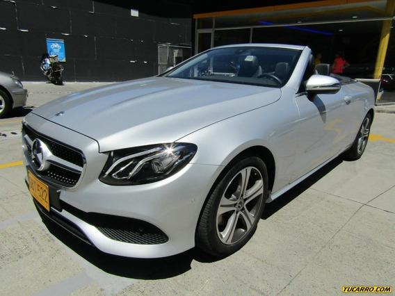 Mercedes Benz Clase E 200 Cabriolet