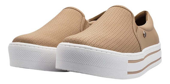 Tênis Feminino Via Marte Casual Bistro Slip-on 19-12572