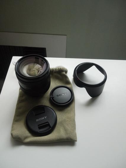 Lente Sony Dt Ssm 16 - 50mm F./ 2.8 Em Estado De Nova