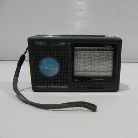 Rádio Philco Fm/mw/sw Ph60 Cinza Colecionador - Usado