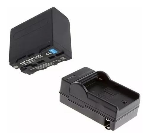 Bateria Np-f970 + Carregador De Bateria Garantia Sem Juros