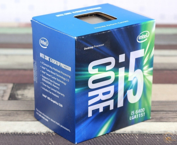 Processador I5-6400 6ª Geração Lga 1151