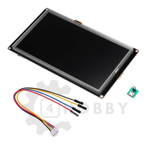 Tela Lcd Nextion 7 Enhanced 800×480 Ihm Touch *100312