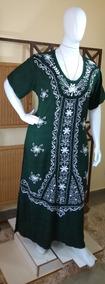 Vestido Longo/moda Evangélica/ Moda Plus Size/ Bordado. C191