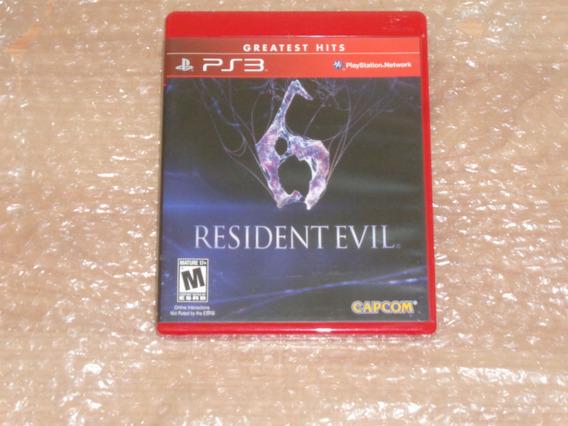 Resident Evil 6 - Ps3 - Frete R$ 17 - Novíssimo