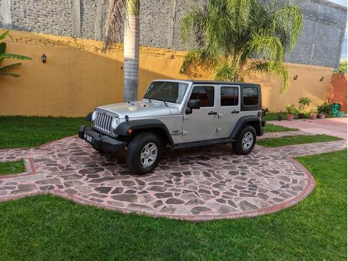 Imagen 1 de 14 de Jeep Wrangler 2010 3.8 Unlimited X 4x2 At