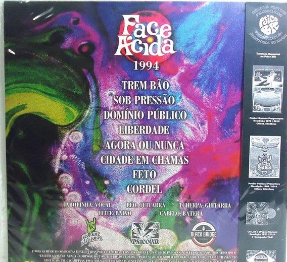 Face Ácida 1994 Lp Trem Bao Edição Limitada Inclui Cd