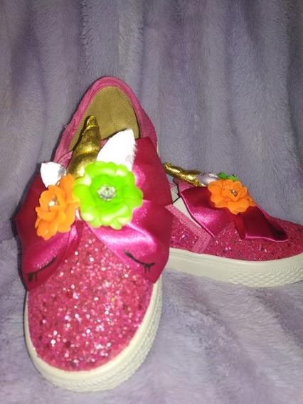 Zapatos Flats Unicornio Niña