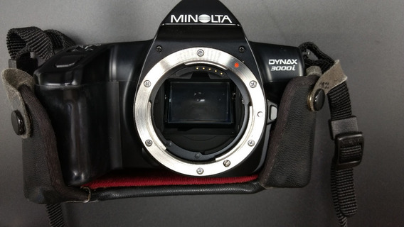 Máquina Minolta Dynax 3000i Analógica - Usada - Funcionando