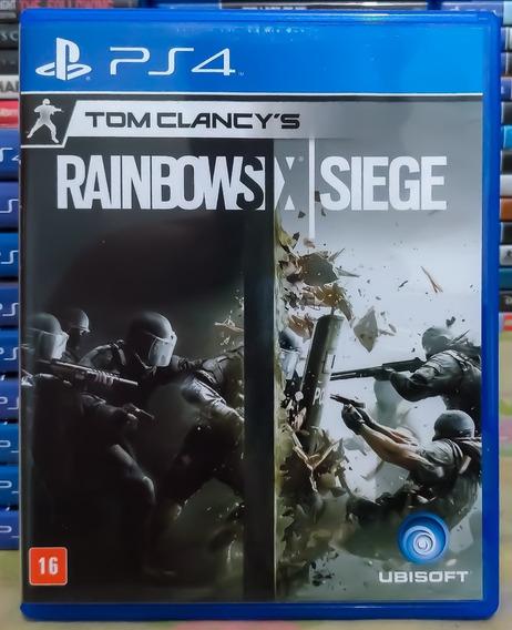 Tom Clancys Rainbow Six Siege Ps4 Mídia Física Português