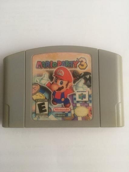 Mario Party 3 Nintendo 64 Original