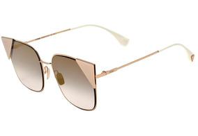 0708a0d1b Oculos Fendi Espelhado Dourado - Óculos no Mercado Livre Brasil