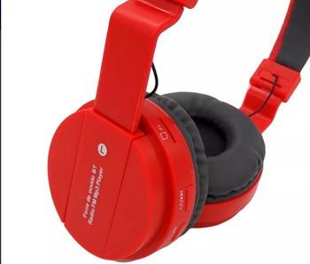 Fone De Ouvido Sem Fio Bluetooth Entrada Cartao Sd E Fm -059