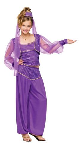 Disfraz De Indu Bollywood Belly Dance India Para Niñas