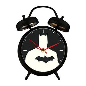 Relógio Despertador Com Led - Dc Comics - Batman - Urban