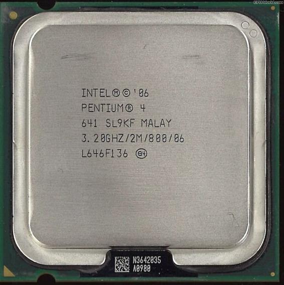 Kit 8 Processador 775 Pentium 4 Ht - Mod 641 3.2ghz /2m /800