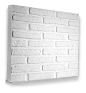 Placas De Yeso Antihumedad Para Pared Simil Ladrillos 60x60