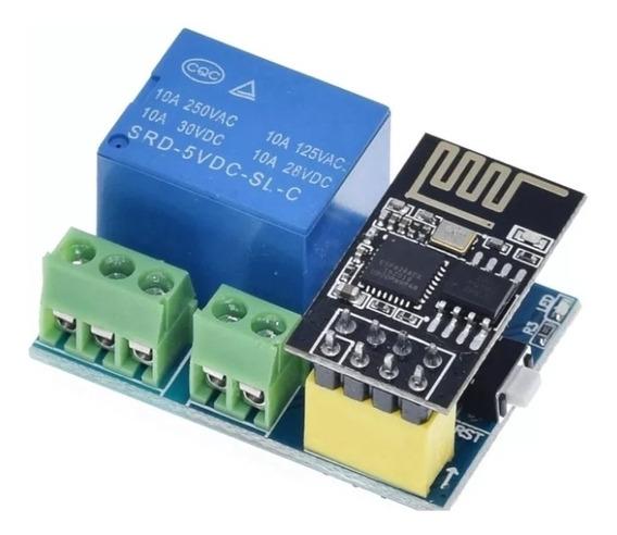 Módulo Relê Wifi Esp01 S Automação Esp8266 Sonoff Similar