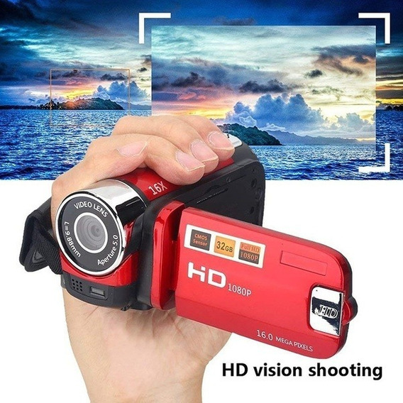Cámera Full Hd 16mp 1080p