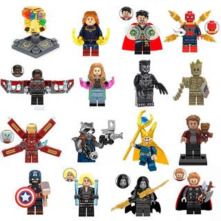 12 Figuras Avengers Vengadores A Elección Compatibles