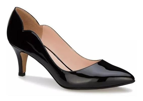 Zapato Dama Ly3 Charol Andrea 2548821 Tacón Medio 7cm