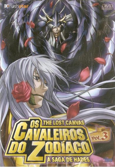 Dvd Os Cavaleiros Do Zodíaco - The Lost Canvas - Vol. 3