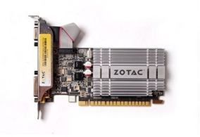 Placa De Vídeo Geforce Zt-20313 1gb 64bit Ddr3 - Zotac