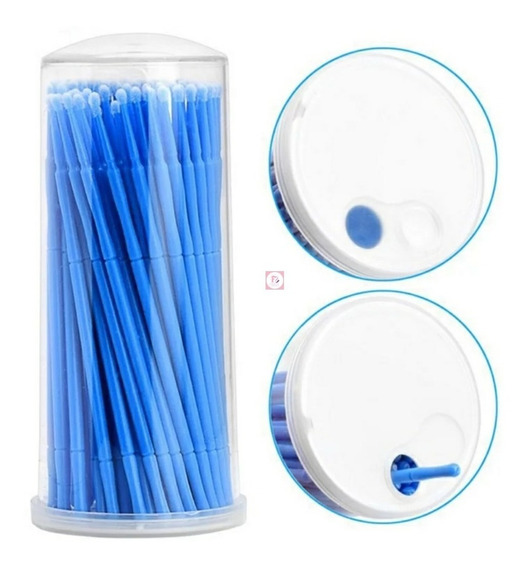 Micro Brush P/ Extensao De Cilios Ou Design - Profissional