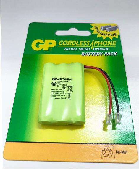 Bateria Telefone Gp Ni-mh Aaa 3,6v 550mah Plug Universal