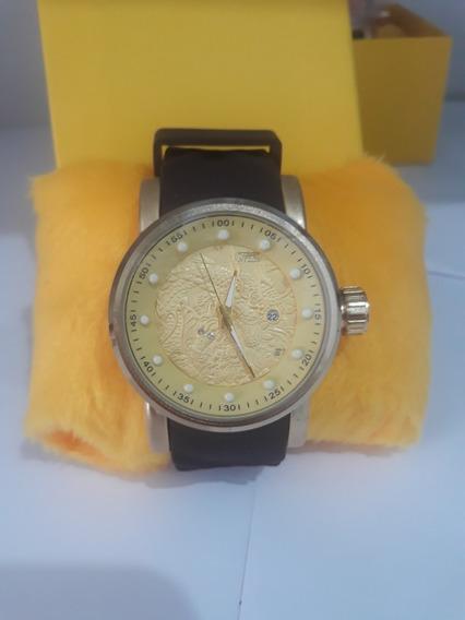 Relógio Masculino De Pulso Dragão S1 Com Caixa