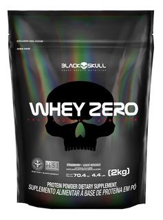 Whey Zero Refil 2kg Whey Isolado Blackskull