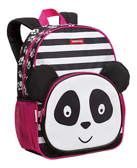 Mochila Costas M Gata/ Cachorro/ Panda Kids Sestini