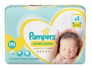 Pañales Pampers Premium Care Recien Nacido Hasta 4 Kilos