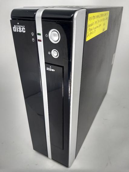 Estação De Trabalho Compact Disc Atom Duo Core 2gb Ram 160hd