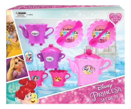 Set De Te En Caja Princesas Disney Pronobel
