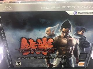 Tekken 6 Limited Edition Ps3 - Wird Us -