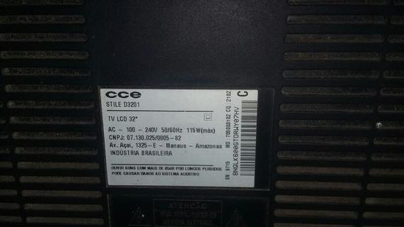 Display De Tv Cce D3201 Style