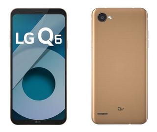 Celular Lg Q6 32 Gigas De Memoria Dourado