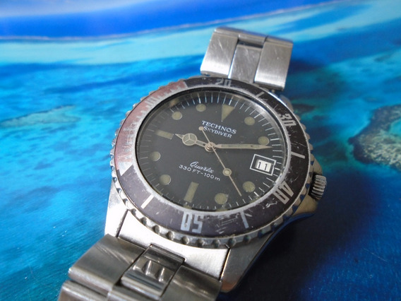 Technos Skydiver Quartz Eta Swiss Made S