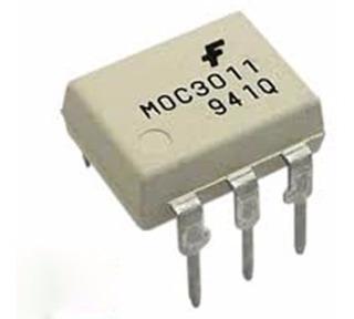 Moc3011 Dip-6 Ic Moc 3011