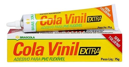 Imagem 1 de 4 de Cola Vinil Extra Flexivel Para Inflaveis Piscinas Colchão