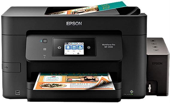 Impresora Epson Wf 3720, Con Sistema $230, Mejor Q L6191