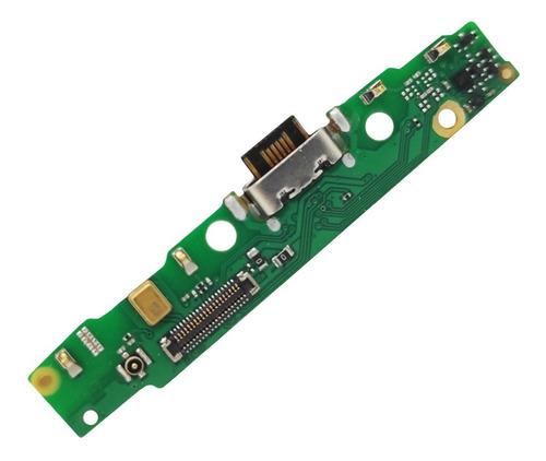Imagen 1 de 6 de Placa Flex Pin De Carga Compat. C/ Moto G7 Power Cld. Orig,