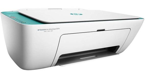 Impressora Multifuncional Hp Deskjet 2676 Ink Advantage