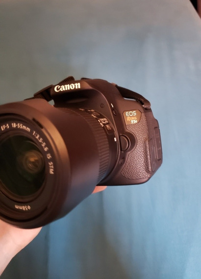 Câmera Canon T5i + Lente Do Kit + Acessórios