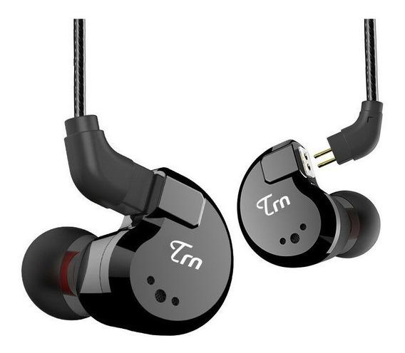 Fone Trn V80 Retorno Monitor De Palco Profissional 4 Drivers