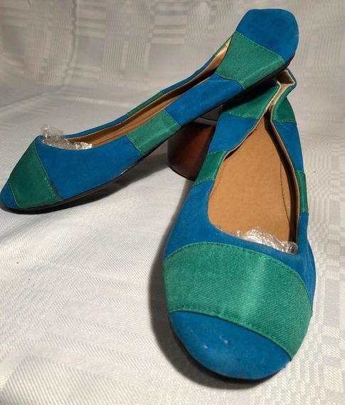 Chatitas/zapatos De Eco Cuero