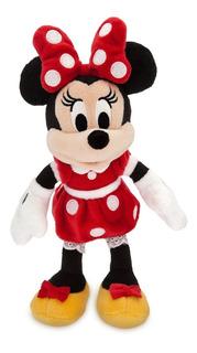 Peluche Minnie Mouse Roja Original Disney Store U S A 24 Cm