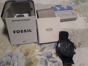 Relógio Fossil Nate Chrono Masculino Jr1530/4pn