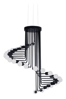 Lámpara Colgante Vivlio Araña 26 Luces Living Deco Modern Ff